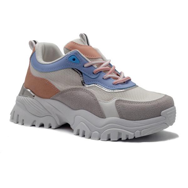 Sneakers plataforma combi