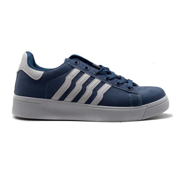 Sneakers de mujer rayas azul