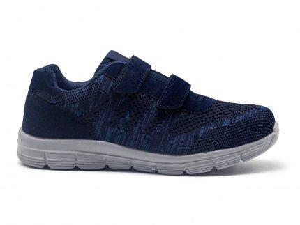 Sneakers 2 velcros con plantilla de memoria, extremadamente cómodos