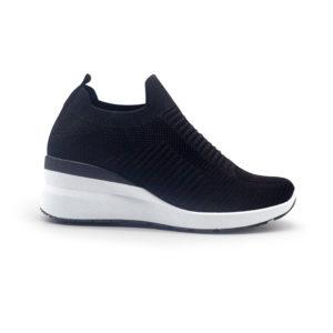 Sneakers de calcetín con cuña