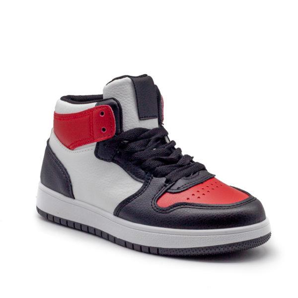 Bota deportiva con cordones estilo Jordan